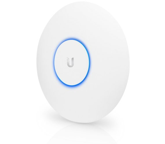 Ubiquiti UniFi UAP-AC-PRO-US Dual Radio Access Point Tilted