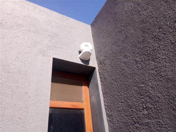 Installation of Wireless Outdoor Motion Sensor Tower 20AM MCW