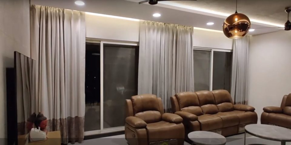 Somfy Home Automation Curtains