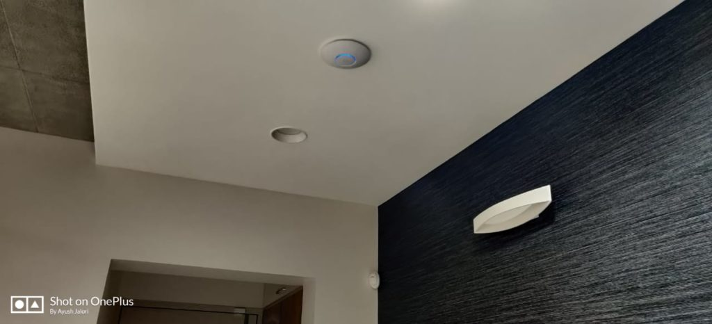Visonic Wireless Motion Sensor and WiFi