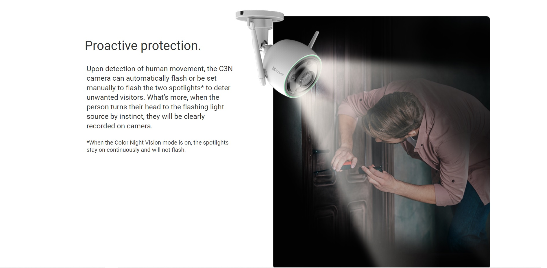 EZVIZ HD Outdoor Smart Wi-Fi Camera C3N