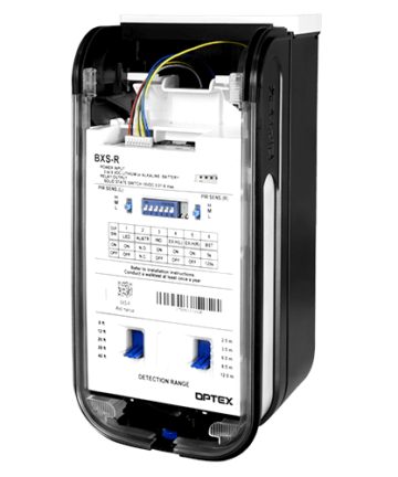 Optex Wireless Outdoor Motion Detector BXS-R Inside View